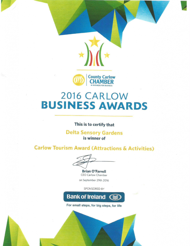 Carlow Tourism Award 2016 (Attractions and Activities)_001